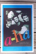 A - Ha Tour Poster 1986