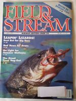 1991 July Field and Stream Magazine Midwest Edition Bass Walleye Trout Bears