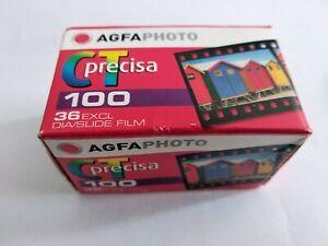 9 Diafilme AGFA Precisa CT100 * 36 Aufnahmen, 100ASA ! TOP