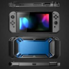 Heavy Duty Rubber Shock Proof Hard Shell Case Cover Nintendo Switch Blk/Blue  B5