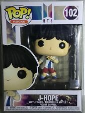 Funko Pop! Rocks 102 J-Hope Bts w/Protector