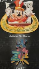 DISNEY STORE MAGICAL MUSICAL MOMENTS #90 STITCH TO THE RESCUE ON BIKE PIN