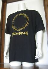 Xxl Men The Lord of the Rings T-Shirt Black Speech Inscription new Nwt