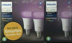 PHILIPS Hue LED-Lampen Color 3er-Set E27