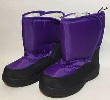 Kids Girls Winter Snow Boots Size 11 Waterproof Thermal Wellington Mud Rocks