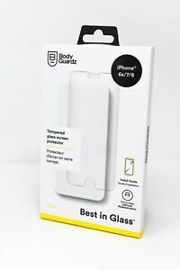 BodyGuardz Pure 2 Glass Screen Protector for iPhone SE 2nd Gen iPhone 8/7/6s/6