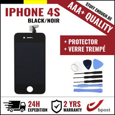 AAA+ LCD  TOUCH SCREEN/SCHERM/ÉCRAN BLACK NOIR &VERRE TREMPÉ+TOOLS FOR IPHONE 4S
