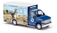 "Busch 41843 - 1/87/h0 FORD e-350 Ambulance-Wyoming Medical Center ""ANTELOPE"""
