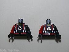 lego 2 torses alpha team arctic set 4743 4746  / 2 minifig torso