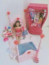 Barbie Doll & Bedroom Furniture Play Set