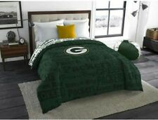 "NFL GREEN BAY PACKERS Microfiber Bedding Comforter 64"" x 86"" TWIN"