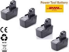 4X Werkzeug Akku für Bosch PSR 12 VES-2 PSB 12 VSP-2 GSR GSB Series Batterie