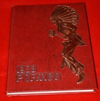 """Wappingers Central School Yearbook """"The Portico"""" Wappingers Falls, NY 1983"""