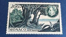 Monaco PA N° 59 200f Vert Et Bleu Neuf ** TB Centrage Cote 55€