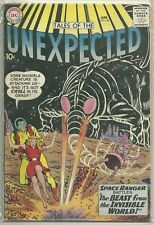 Tales of the Unexpected #48 DC (1960) Silver Age Comic FN+/VF- (Space Ranger)