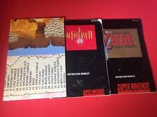 Final Fantasy II 2 Mystic Quest Zelda A Link To The Past Map Instruction Manual