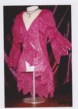 White Lies Designs heirloom Madeline Shawl Jacket Knitting Pattern Leaflet