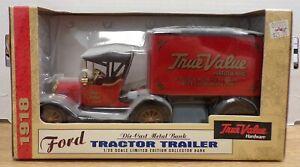 Ford Tractor Trailer 1/25 True Value Diecast 1918 040721DBT4