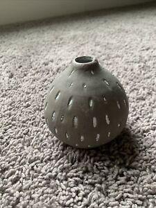 Creative Co Op Gray Terracotta Vase