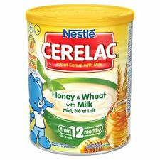 400g Nestle Cerelac Honey and Wheat with Milk From 12 Months