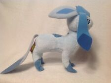POKEMON PLUSH GLACEON 2009 JAKKS STUFFED FIGURE RARE! US SELLER