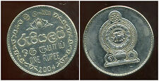 SRI LANKA  1 rupee  2004