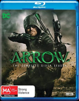 Arrow : Season 6 (Blu-ray, 4-Disc Set) NEW