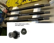 """Bmw x5 front drive shaft, 00-06, 1""""extended splines 100 tested and balance BMWX5"""