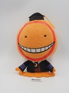 Assassination Classroom B0107 Orange Koro Sensei Banpresto 2014 Keychain Plush