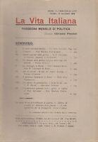LA VITA ITALIANA RASSEGNA ANNO VI N. LXVI 15 GIUGNO 1918 GIOVANNI PREZIOSI