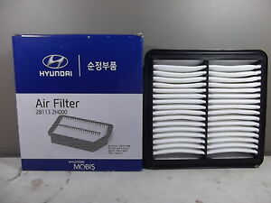 GENUINE HYUNDAI I45 SEDAN YF SERIES 2.4L PETROL ALL MODEL  AIR FILTER 1EA
