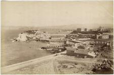 Photo Albuminé Marseille Les Catalans Vers 1880