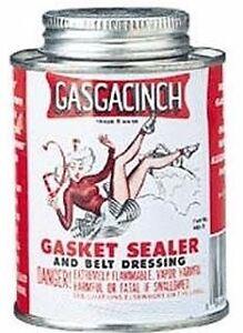 Gasgacinch 440A Gasket Sealer / Belt Dressing. 4oz Screw Top Can 4 ounces. 440 A