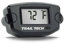 TTO Trail Tech Temperature Gauge Black 14mm Paramotoring & Powered Paragliding
