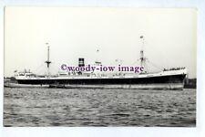 pf4859 - Houston Line Cargo Ship - Hesperides , built 1946 - photograph