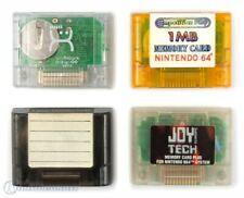 N64 Memory Card / Memorycard / memory card / gamepad-Pak 1MB transp various bran