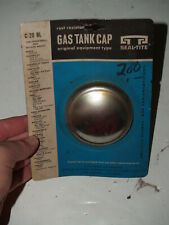 NOS Seal Tite Gas Tank Cap-Ford Plymouth Chevrolet Olds Studebaker 1937-1968