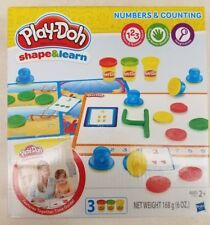 Play-Doh Shape & Learn Numbers and Counting Stamp Set ~ Fun while learning Now!!