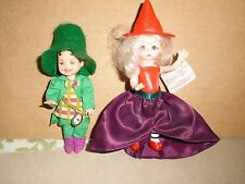 Wizard of Oz Tommy Mayor Munchkin Doll 1999 Turner Entertainment & Wicked Witch
