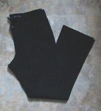 Gap BLACK  Stretch Denim Mid-rise Boot-cut JEANS ~ Size 14R  36x29