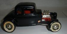 Vintage Hot rod coupe Model kit built black