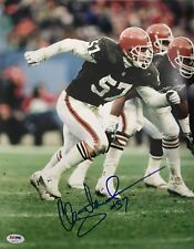 Clay Matthews Signed Autographed Cleveland Browns Custom 11x14 Photo HOF Psa/Dna