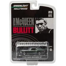 GREENLIGHT 44721 BULLITT STEVE MCQUEEN 1968 FORD MUSTANG GT 1/64 DIECAST GREEN