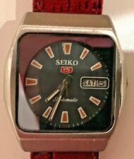 VINTAGE SEIKO 5 21J AUTOMATIC JAPAN MADE WRIST WATCH FOR MEN'S WEAR WORKING GOOD