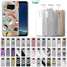 """For Samsung Galaxy S8 G950 5.8"""" Pattern Silver Glitter Clear TPU Soft Cover Case"""