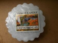 Yankee Candle Usa Rare Crisp Morning Air Wax Tart.