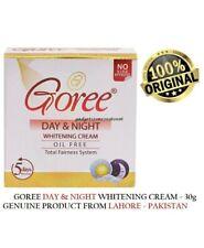 "100% ORIGINAL ""Goree"" DAY & NIGHT BEAUTY Whitening CREAM CURE ACNE"