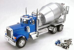 Peterbilt 379 Metallic Blue/Silver Truck 1:3 2 Model Welly
