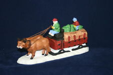 Ox Sled The Heritage Collection Department 56