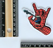 Spiderman style Screaming Hand skateboard decal vinyl sticker #2618